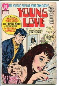 YOUNG LOVE #88-DC ROMANCE-GOOD ISSUE-NURSE COVER VG