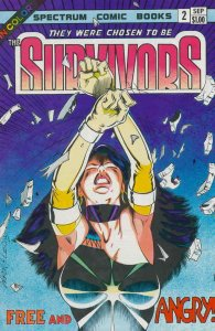 They Were Chosen to be the Survivors #2 VF; Spectrum | save on shipping - detail