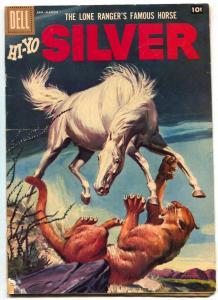 Lone Ranger's Famous Horse Hi-Yo Silver #25 1961- Dell Western- VG