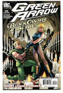 GREEN ARROW #75-BLACK CANARY proposal issue Justice League of America