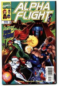 ALPHA FLIGHT VOL. 2  #16--FIRST BIG HERO SIX cameo-LOW PRINT RUN-NM