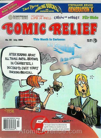 Comic Relief (magazine) #65 VF/NM; Page One | save on shipping - details inside
