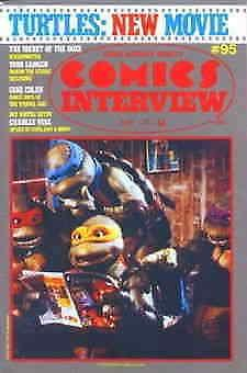 Comics Interview #95 VG; Fictioneer | low grade comic - save on shipping - detai