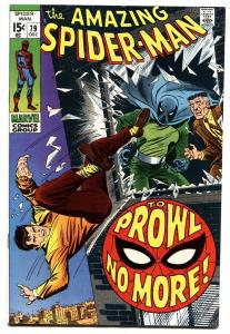 Amazing Spider-Man #79 comic book 1969-PROWLER-JOHN BUSCEMA VF/NM