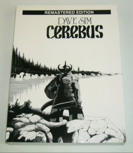 Cerebus Book One TPB VF/NM remastered edition collects #1-25 aardvark-vanaheim