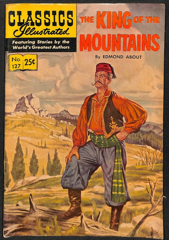 Classics Illustrated #127 (1955)
