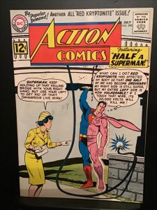 Action Comics #290 (1962) High-grade, all Red Kryptonite Issue!  NM- Wow!