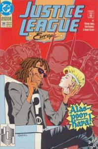 Justice League Europe #39, NM- (Stock photo)