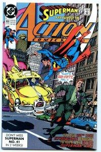 Action Comics 650 Feb 1990 NM- (9.2)
