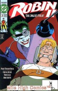 ROBIN II: THE JOKER'S WILD (1991 Series) #2 NEWSSTAND Very Good Comics Book