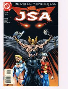 JSA # 47 DC Comic Books Hi-Res Scans Modern Age Awesome Issue WOW!!!!!!!!!!!! S3
