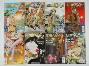 Army@Love #1-12 VF/NM complete series + art of war 1-6 rick veitch vertigo set