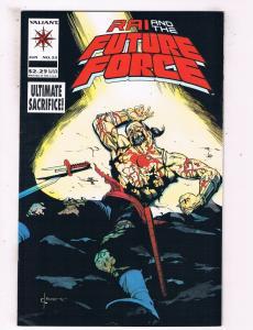Rai & The Future Force #22 VF Valiant Comics Comic Book Jun 1994 DE43 TW14