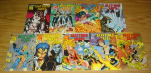 Shattered Earth #1-9 VF/NM complete series - ex-mutants - jim balent covers set