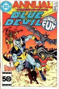 Blue Devil Annual #1, VF (Stock photo)