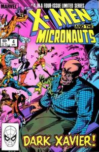 X-Men and the Micronauts #4, VF+ (Stock photo)