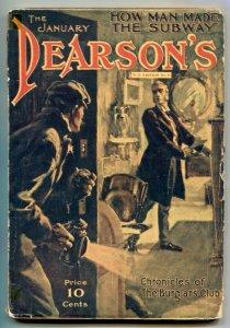 Pearson's Magazine January 1905- Burglars Club VG