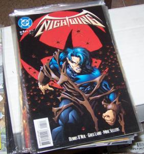 NIGHTWING  # 4  MINI- DICK GRAYSON 1995 DC COMICS BATMAN ROBIN