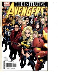 Lot Of 7 Avengers Marvel Comic Books # 1 2 3 + Forever # 1 11 12 + # 401 JD2