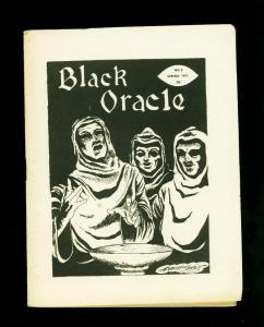 Black Oracle Fanzine #5 1971- George Stover- Satanism-Horror-King Kong- VG