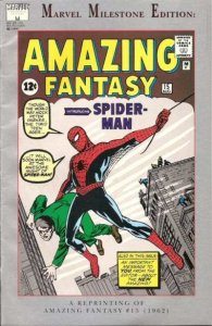 Marvel Milestone Edition Amazing Fantasy #15, VF (Stock photo)