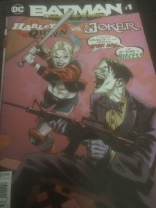 DC Batman #1 Prelude to Wedding Feat Joker Mint