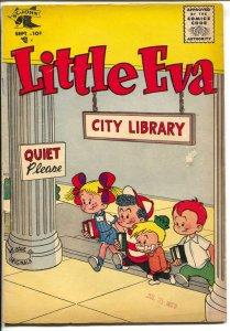 Little Eva #29 1956-St. John-end of run issue-rare-VG
