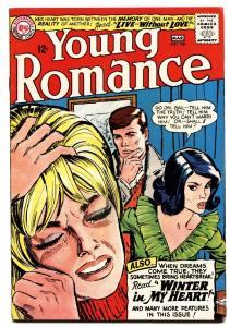 YOUNG ROMANCE #140 comic book 1965-DC ROMANCE-CRYING CVR