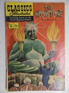 Classics Illustrated #30 (1946) HRN 167
