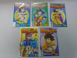 Dragon Ball Z Part 1 set #1-9 8.0 VF (1998 Viz)