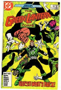 GREEN LANTERN CORPS #207 (7.5) No Reserve! 1¢ auction!