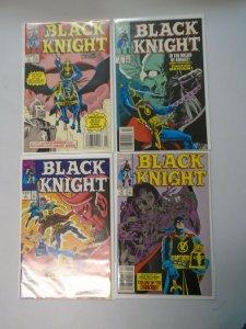 Black Knight set #1-4 avg 6.0 FN (1990 1st Series)