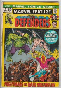 Marvel Feature presents Defenders, The #2 (Mar-72) FN Mid-Grade Dr.Strange, N...