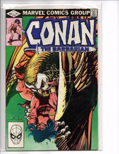 Marvel Comics (1970) Conan the Barbarian #135 Walt Simonson Cover Marc Silvestri