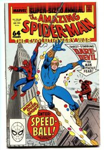 AMAZING SPIDER-MAN ANNUAL #22-MARVEL-First appearance SPEED-BALL comic book
