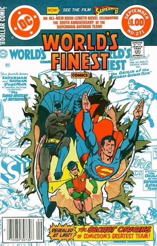World's Finest Comics #271 VF; DC | save on shipping - details inside