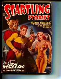 Startling Stories-Pulp-7/1950-Edmond Hamilton-Ray Bradbury