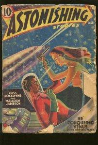 ASTONISHING STORIES #3 6/1940-PULP SCI-FI THRILLS-good minus