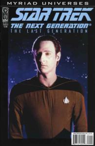 Star Trek: The Next Generation: The Last Generation #1B VF/NM; IDW | save on shi