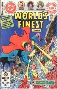 WORLDS FINEST 278 VF-NM $1 COVER GIANTS April 1982 COMICS BOOK