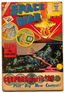 Space War #10 1961- DITKO- Mars Attacks the USA VG