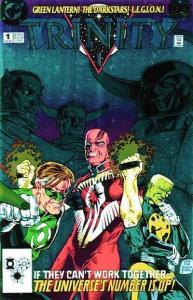 DC Universe: Trinity #1, VF+ (Stock photo)