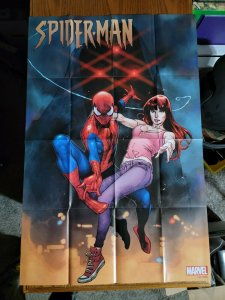 LARGE 36 x 24 Spider-Man & Mary Jane Promo Poster