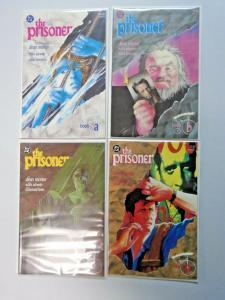 Prisoner set #1 to #4 #0 A & #0 B & #0 C & #0 D 4 different books 8.0 VF (1988)