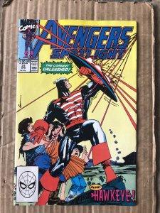 Avengers Spotlight #31 (1990)