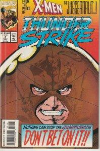 Thunderstrike(vol. 1)# 2  Eric vs Juggernaut For The Life of His Son !