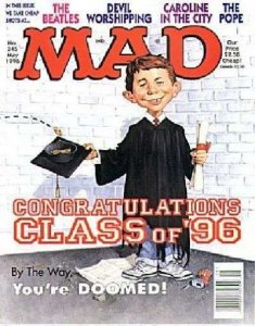 Mad (1952 series) #345, NM + (Stock photo)