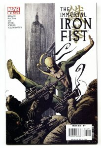 IMMORTAL IRON FIST #2 2007 comic book-First appearance of WU AO-SHI