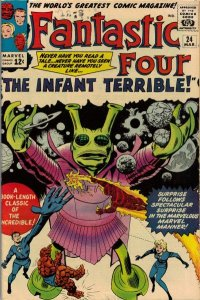 Fantastic Four #24 (ungraded) stock photo / SCM