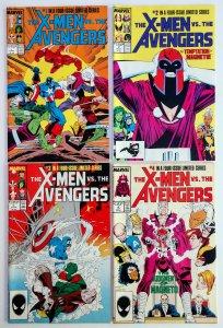 X-MEN VS AVENGERS SERIES 1-4, HIGH GRADE